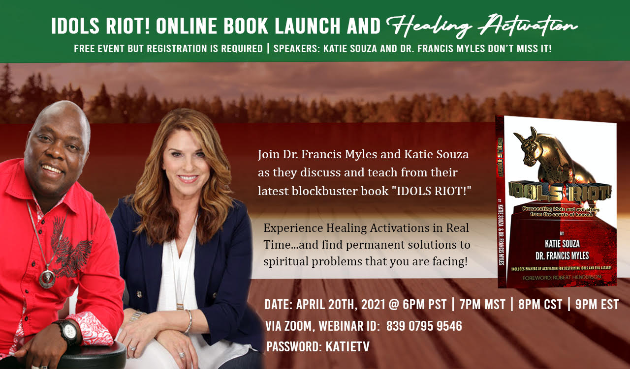 IDOLS RIOT! Online Book Tour Launch & Healing Activation